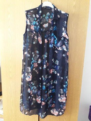 Рубашки и блузы - Кок-Ой: Шифоновая рубашка-накидка размер m (44-46) Фабричный Китай. БУ, в