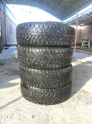 диски ronal r14 в Кыргызстан: Зимние шины шипованные, комплект продам.195/65 R 15 95 T XL