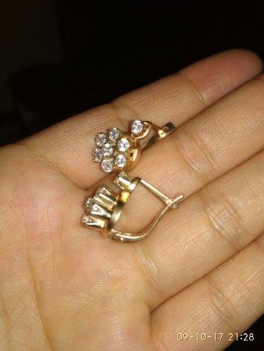 Золотые серьги костромское золото проба 585 вес около 7 грамм в Кант