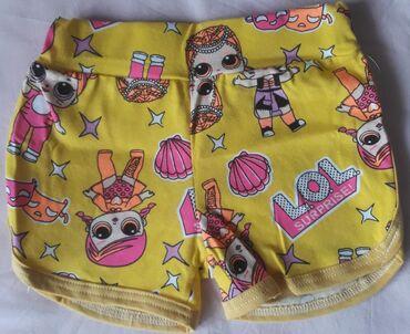 LOL pamučni šorcevi za devojčice, veličine od 6-14