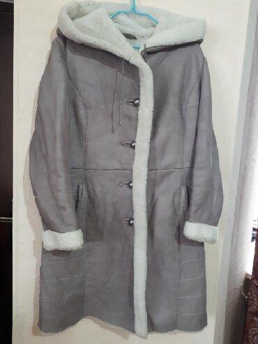 дублёнку женскую в Кыргызстан: Продаю женскую дубленку TOSCANO.Натуральный мех.48-размер