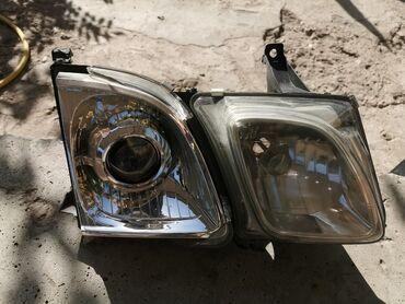 Фары Lexus lx470 правый, разбит стекло ближний
