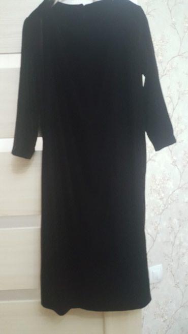 Вечернее платье из бархата. Цвет бордово-коричневый. Размер 36 / 42 в Бишкек