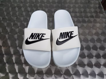 Nike Muske Papuce-Bela Boja-Extra Kvalitet-Made In Vietnam! - Nis