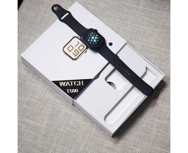 модулятор бишкек в Кыргызстан: Смарт часы T500Смарт часы T500 Black — стильное многофункциональное