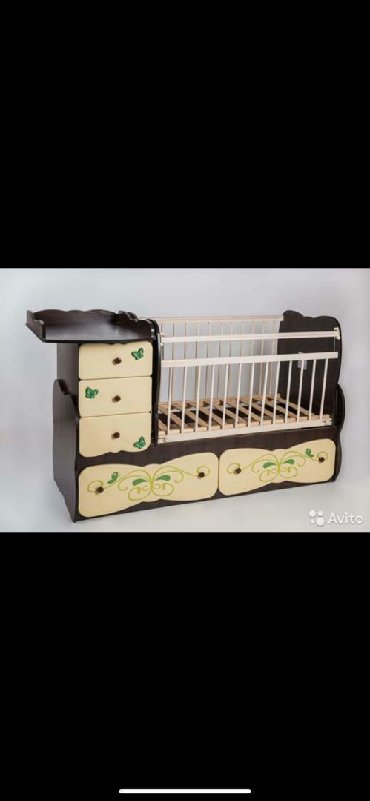 Детская мебель. материал лдсп. Лицевая сторона массив березы+