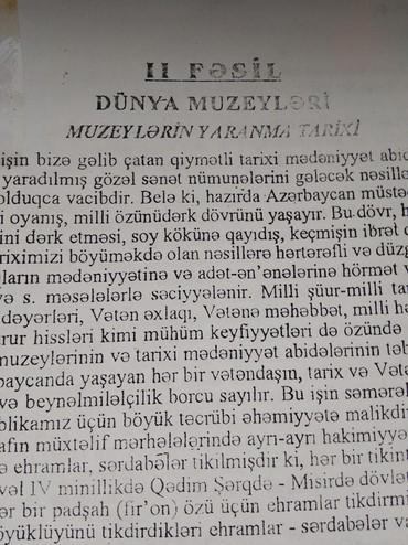 kserekopiya - Azərbaycan: Muzeyşünaslıq ixtisası üzrə dərs vəsaiti. Kserekopiya kitab şəklində