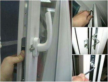 Ремонт окон-дверей. устранение продувание, шумоизоляция, замки от дете в Бишкек