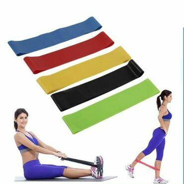 резины для фитнеса в Кыргызстан: Эластичные резинки для фитнеса, 5 штук бесплатная доставка по городу ф