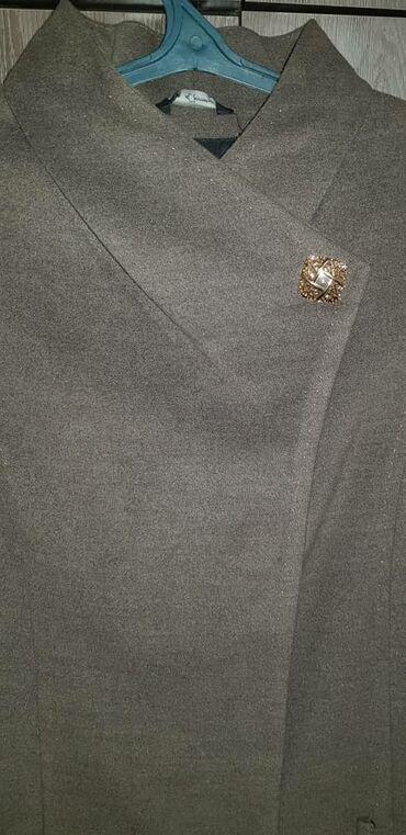 летнее платье 52 размера в Кыргызстан: Продаю кашемировое пальто. Размер 52