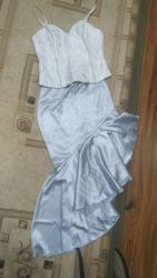 теплое платье батал в Кыргызстан: Вечернее платье, корсет и брюки.Продаю комплектом, торгуемо, размер