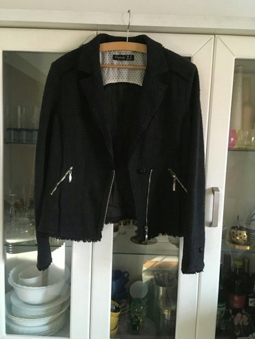 """voyana"" ekstra jakna 42. Moderna. Crna.. Kao nova. Par puta - Loznica"