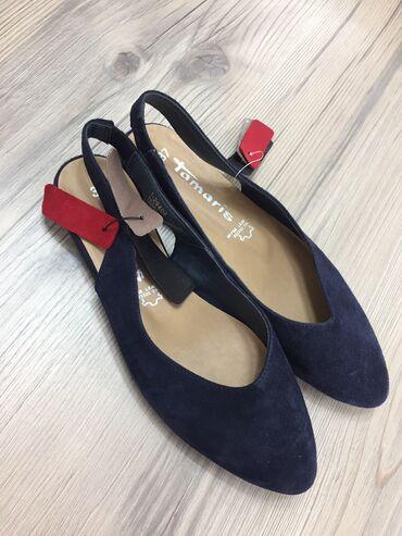 купить женскую обувь недорого в Кыргызстан: Продаю женскую немецкую обувь— Кожа Германия бренд Тамарис—