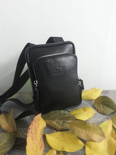 Мужская кожаная сумка для телефона Производство турция 2200