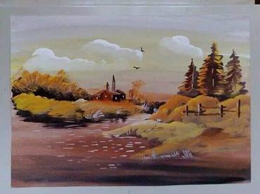 Slike | Vrnjacka Banja: SlikeKombinovana tehnika (ulje, akvarel, tempera)Veličina blok 5s