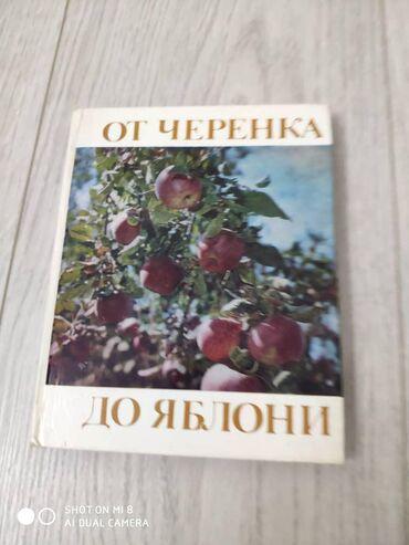 """Продается книга 250 сом """"От черенка до яблони"""".6 мкр"""