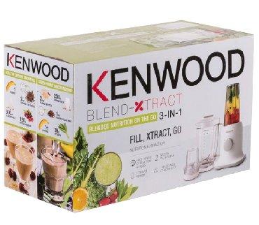 пароварка kenwood в Кыргызстан: БЛЕНДЕР KENWOOD BL 237 Основные характеристики Типстационарный Мощнос