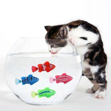 Продаю интерактивную игрушку плавающая рыба - рыба большая, красного