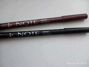 """карандаш в Кыргызстан: Карандаш для глаз черная и коричневый цвет от фирмы """"NOTE""""оригинал"""