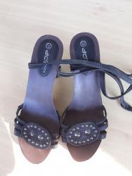 Španske sandale, sa zanimljivim detaljima, jako stabilne, donji dio - Belgrade