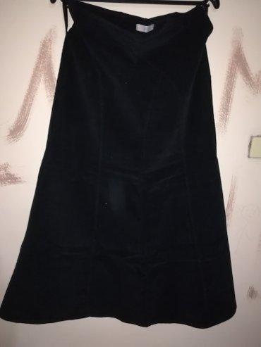 Crna duga suknja od somota. Xl Kupite dva proizvoda iz moje ponude i - Nis