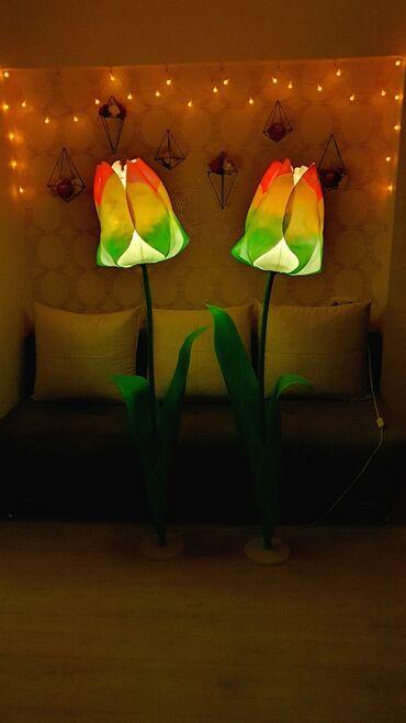объявления о работе бишкек в Кыргызстан: Ростовые цветы светильники на заказ!Смотрите мои другие работы в