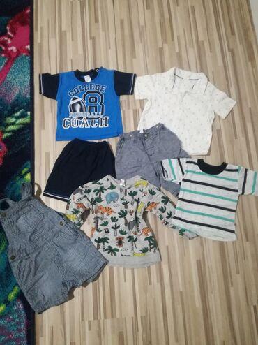 Dečija odeća i obuća - Prokuplje: Garderoba je kao nova,bez ostecenja. Velicina 74. Sve za 1000din