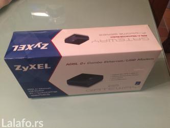 Ruter adsl 2+combo ethernet/usb modem novo, uvoz svajcarska - Smederevo