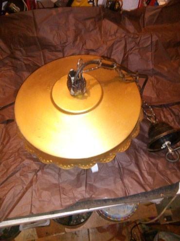 Luster kovani iz nemačke sa grlom za sijalicu radi ispravan - Kraljevo