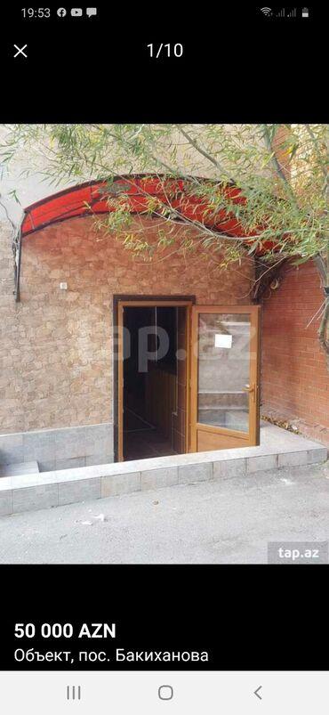 Продам - Азербайджан: Пос Бакиханов. Полу подвал 50кв. Возле96 школы. Купча есть