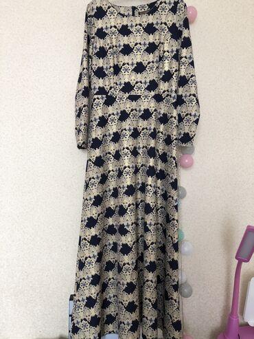 платье в пол осень в Кыргызстан: Осеннее вечернее платье в пол, с атласным ремешком) размер 42 (М )тур