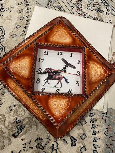 Настенные часы, выглядят очень красиво, новые, не использованные