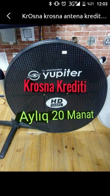 peyk antenalari - Azərbaycan: Peyk antena quraşdırılması