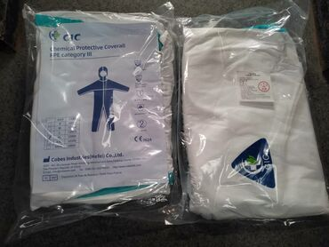 Медицинская одежда - Кыргызстан: Медицинский комбинезон тайвек в наличии!