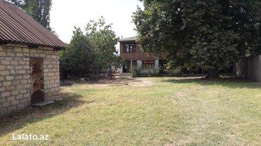 Yevlax şəhərində Ikimartabali ev. Ev yani saha 16 sot. Evin arxasinda alava 18 sot