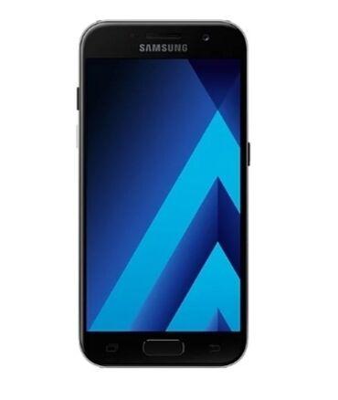 Электроника - Кызыл-Кия: Б/у Samsung Galaxy A3 2017 Черный