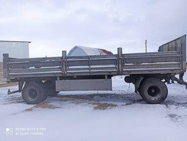 уаз бортовой в Кыргызстан: Прицеп бортовое для камаза и можно на хово рама усиленная нового
