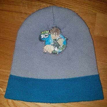 Zimske - Srbija: Ben 10 zimska kapa za decake. Free size. Toliko elastina da mogu i