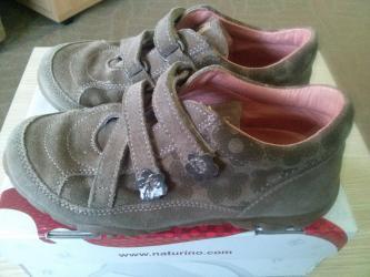 Kožne naturino cipele za devojčicu. Br. Je 29. Cipele su svetlo - Belgrade
