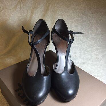 Туфли, кожаные, в хорошем состоянии, немецкий бренд tamaris, удобные