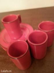 Prodaju se keramivke crvene soljice za kafu -donose srecu - Crvenka