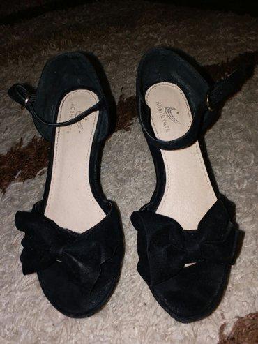 Sandale na platformu sa masnom i otvorrnim prstima - dva puta obuvane, - Kraljevo