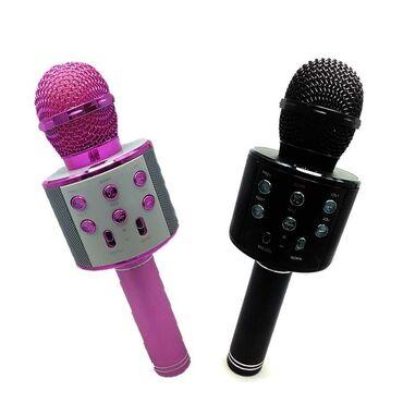 Mikrofonlar - Azərbaycan: Karaoke micrafonƏla səs sistemi var-Yenidir.-Ikinci el deyil.Online