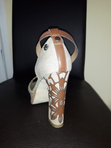 Replay sandale kombinacija koza platno bez ostecenja kao nove br 38 - Loznica - slika 4