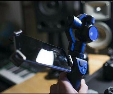 Dji osmo 4К снимает видео и фото стаблизатор подходит для блогеров и