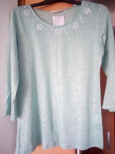 Ordo bluza za tell icine oko - Srbija: Veoma lepa,nova,ženska bluza,sa detaljima oko izreza.Boja svetlo