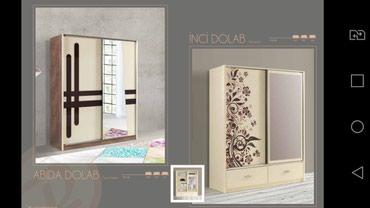Шкаф вместительный и удобный. Доставка и установка бесплатно. в Bakı