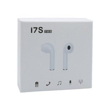 Samo jedan put - Srbija: Bluetooth Slusalice I7S BT za Iphone 7/8/X bele sa punjacemDa bi