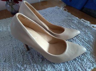 Cipele krem salonke, broj 36, jednom nosene - Stara Pazova