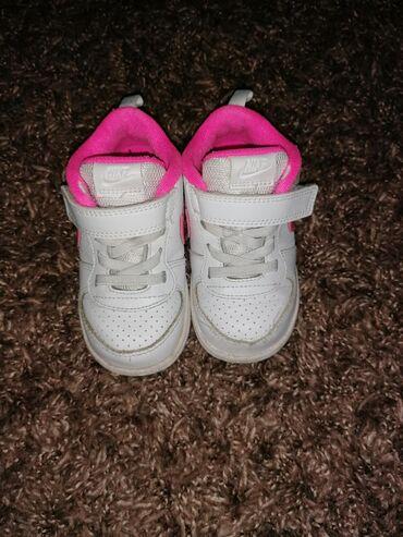 Dečije Cipele i Čizme | Leskovac: Patikice nike, vel. 23,5 (ug 13cm) malo su rasivene napred uslikala sa